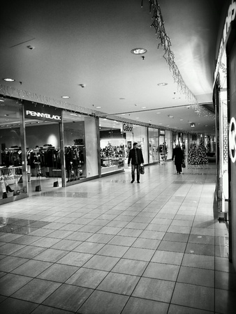 interior: Shopping mall interior
