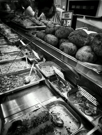 fish: Fresh fish and other seafood, fresh food from the fish shop. Stock Photo