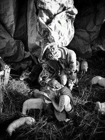 creche: Guarder�a de Navidad. Foto de archivo