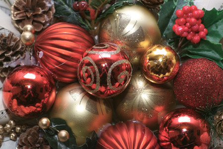 christmas decor: Christmas decor bauble.