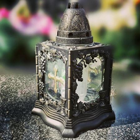 colour: Candle light. Stock Photo