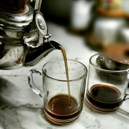 prepare: Morning breakfast, tea prepare.