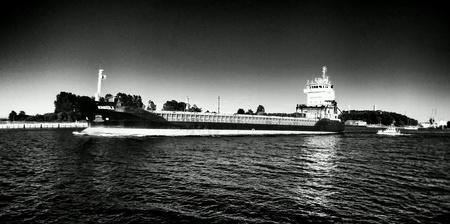 multimodal: The vessel. Gdansk, Poland. Stock Photo