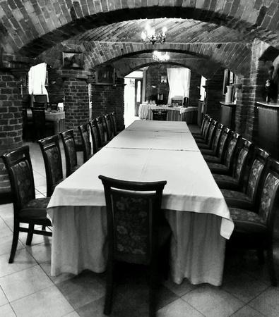 design: Interior medieval architecture design.
