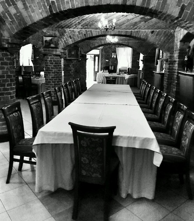 architecture: Interior medieval architecture design.