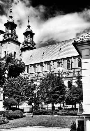 poland: Catholic Cathedral. Gniezno, Poland.
