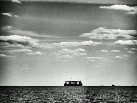 multimodal: Gulf of Gdansk, Baltic sea.