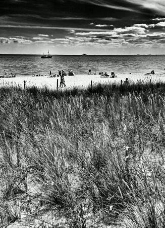 multimodal: On the beach. Hel, Poland.