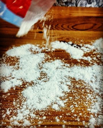 prepare: Prepare Christmas gingerbread, delicious cookie.