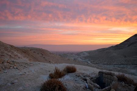 judaean: Judaean desert sunrise