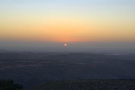 samaria: Samaria sunset