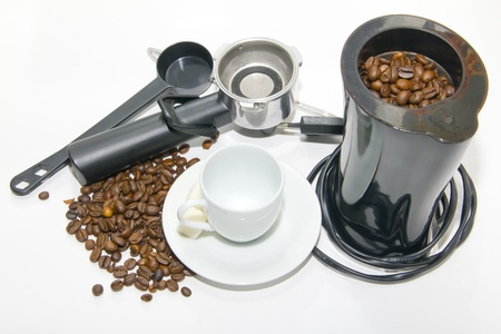 Equipment for coffee