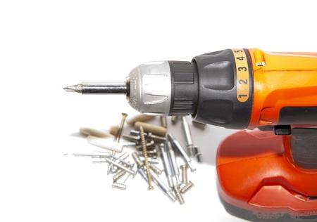 Screwdriver and furniture equipment
