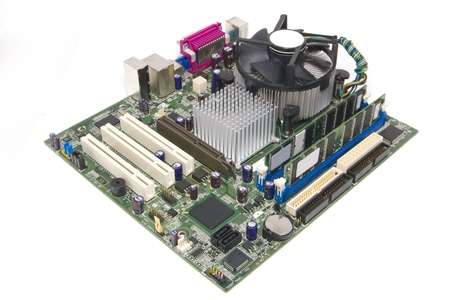 PC motherboard Editorial