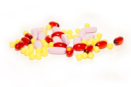 Pills, drugs, vitamins Stock Photo - 11223110