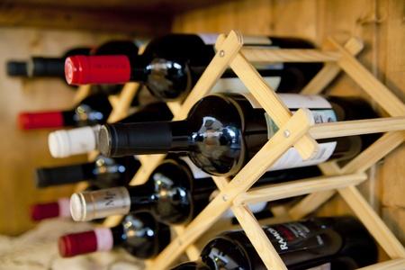 wine stocks: wine bottles Stock Photo