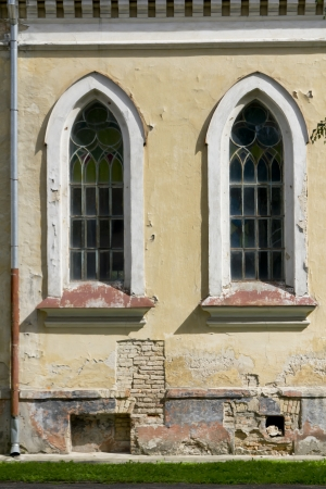 Lutheran church of st  Joann wall in center in Grodno  Belarus  Stock Photo