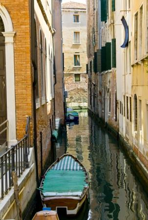Typical Italian street in Venice