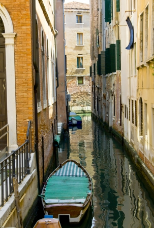 Typical Italian street in Venice