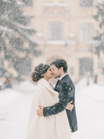 winter wedding Banque d'images
