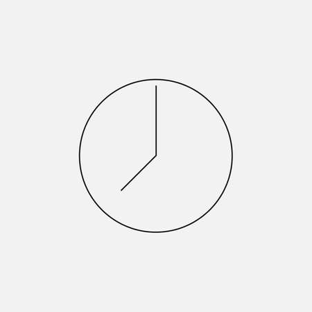 wrist watch: watch and dial of wrist watch hour visit, thin icon set on colored background
