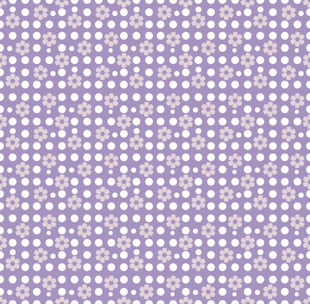 every day: Seamless spring floral pattern in purple and lilac color mothers day for packaging and Wallpaper