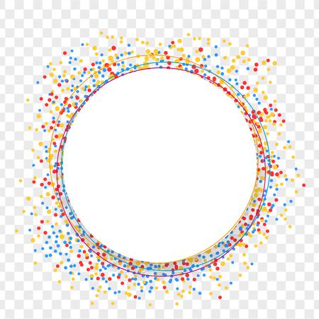 shards: Festively colored shards paper back Illustration