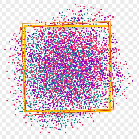 shards: Festively border colored shards