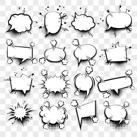 Creative Idea Conversation Sketch Explosion Picture Blank Template ...
