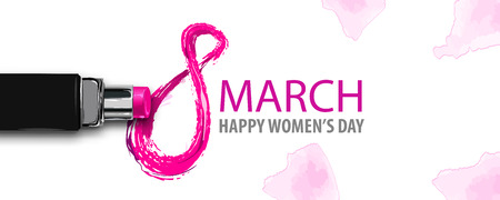 8 march happy womens fashion day