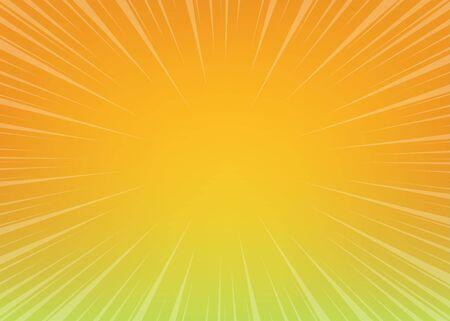 Neon pop art comics gradient radial background Ilustrace