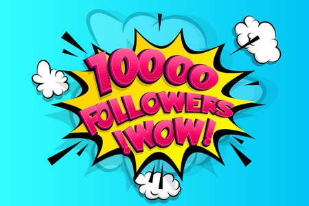 10000 followers thank you for media like