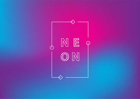 Neon gradient Ui Ux background trendy web color