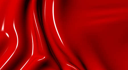 supple: Abstract background in a wave mode from plastic of red colour