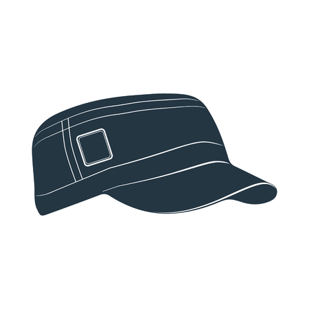 visor: A cap with a visor for protection from the sun. Photo illustration.