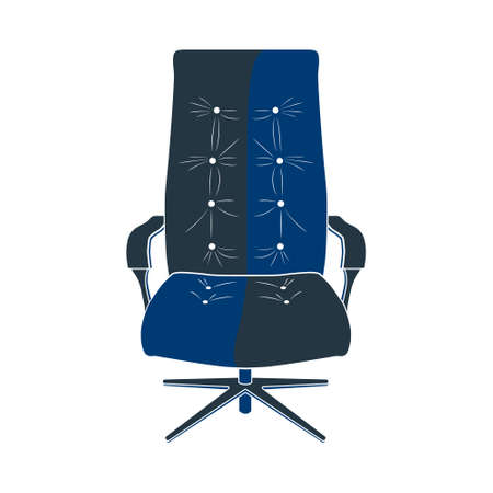 hangout: Icon chair with five legs. Photo illustration.