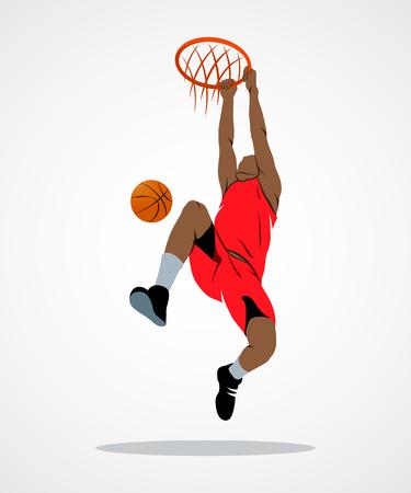 Basketball-Spieler, Ball