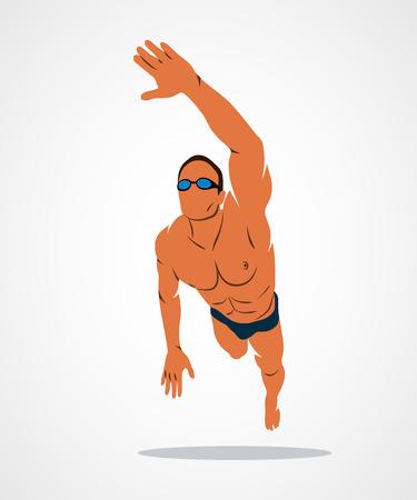 Swimming Logo sport