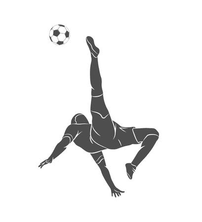 ball, soccer, player Illustration