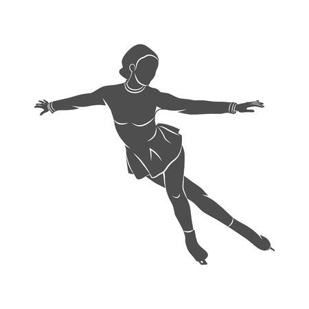 Sport Eiskunstlauf Standard-Bild - 74263212