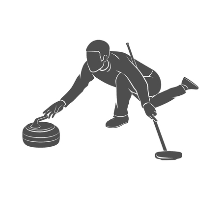 Curling game sport