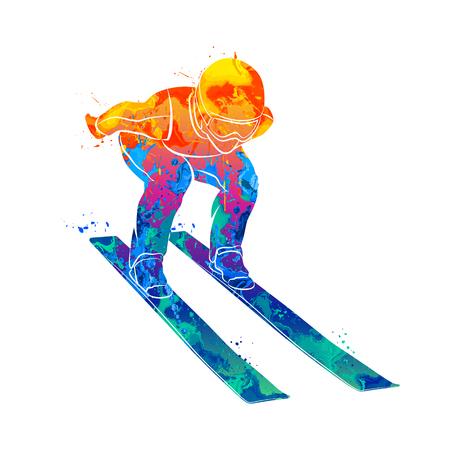 Skier sport