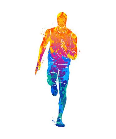 Laufen, Sprinter, Sportler