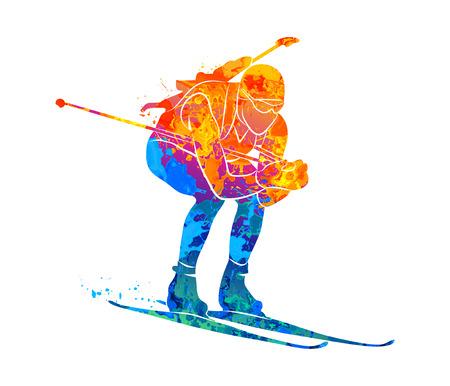 Biathlon Abstract sport