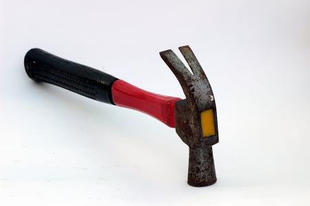 Hammer hit the nail Stock Photo - 17177169