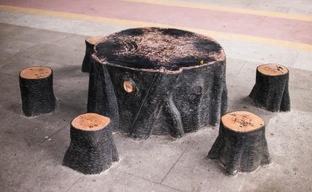 Stone table photo