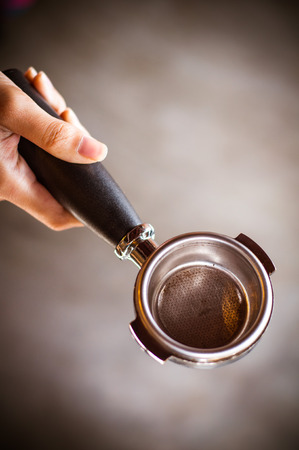 coffee filter: Coffee filter holder