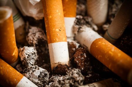 humo: cigarrillo Foto de archivo