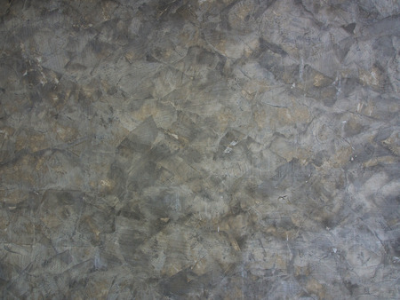 polished: Polished plaster walls Stock Photo
