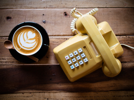 telephone: coffee and telephone classic